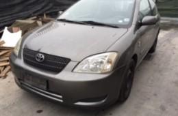 Toyota Corolla 3p. 2002 1.600cc 81kw benzina 3ZZFE