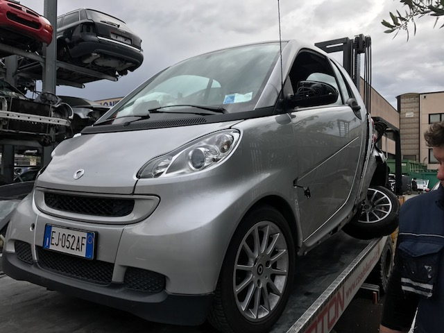 Ricambi  Smart Fortwo coupe benzina 2011 tipo motore 3B21