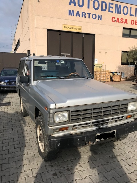 Ricambi Nissan Patrol 3200cc diesel 1988 tipo motore SD33T 81kw