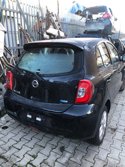 Ricambi Nissan Micra 1200cc benzina 2013 tipo motore hr12 59kw