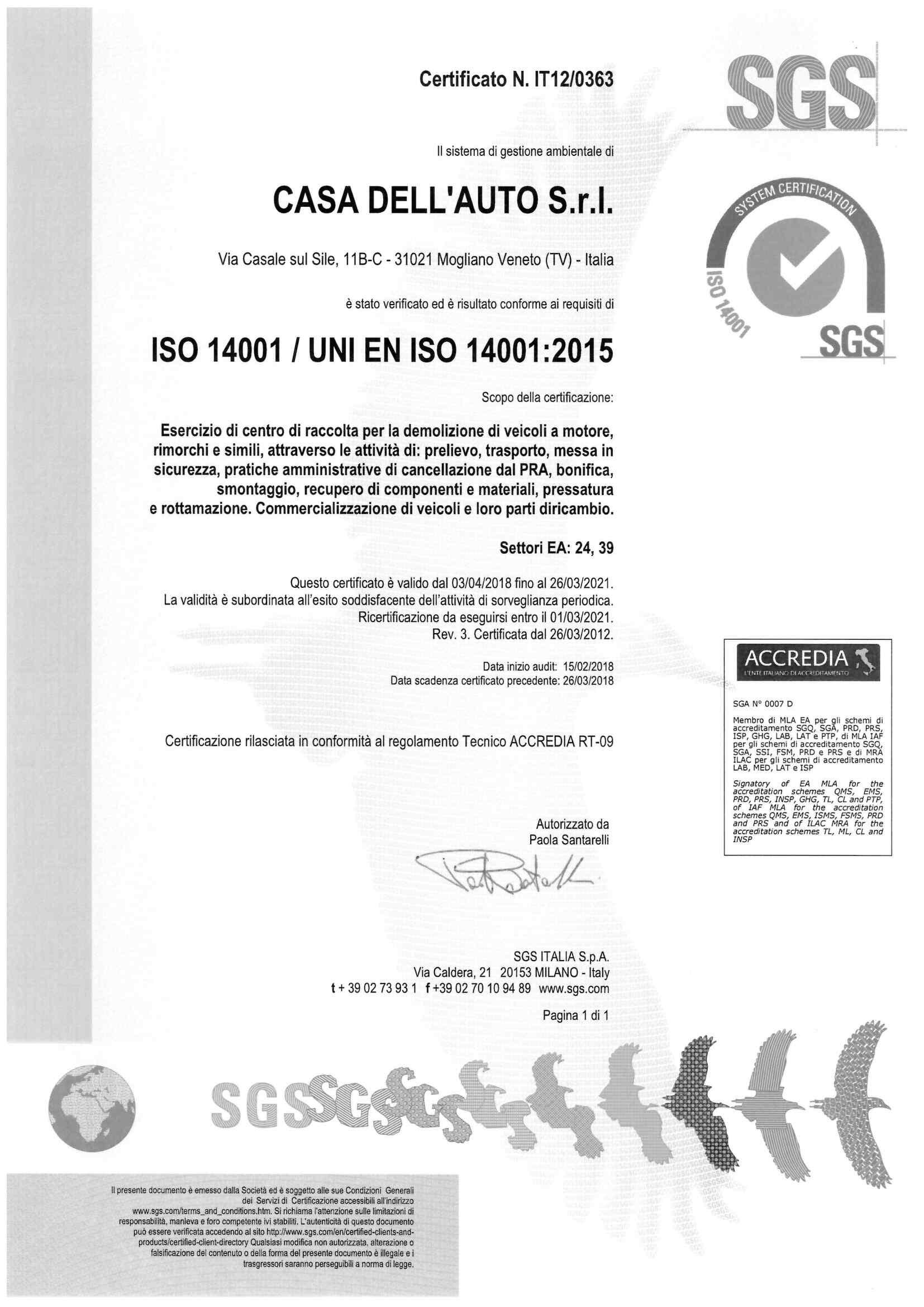 Casa-dell-auto-certificato-ISO-14001_2015