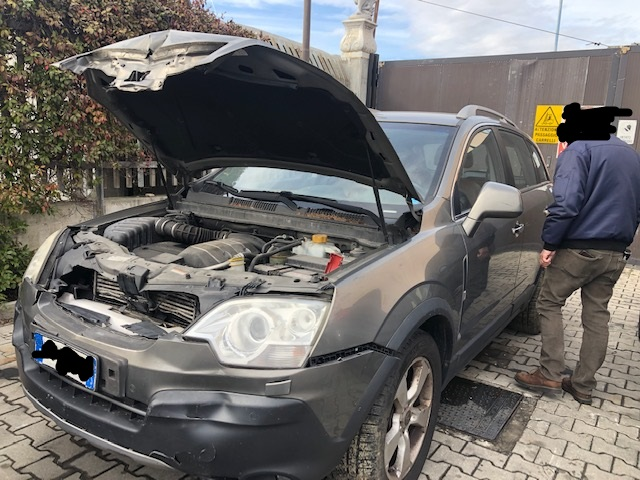 Ricambi Opel Antara 2000cc diesel 2007 tipo motore Z20S 110kw