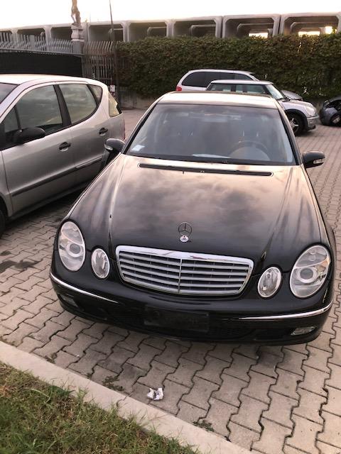 Ricambi Mercedes Classe E 2200cc benzina 2002 tipo motore 646961 110kw