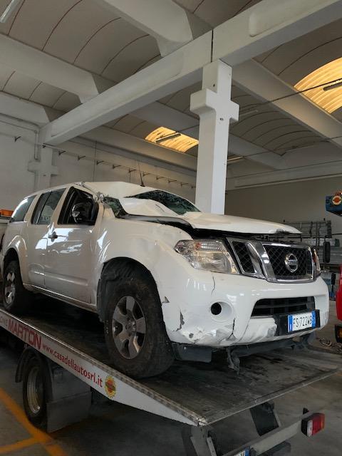Ricambi Nissan Pathfinder 2500 diesel 2009 tipo motore YD25 140kw