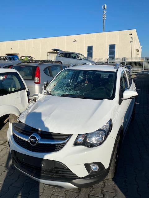 Ricambi Opel Karl Rocks 1000cc benzina 2019 tipo motore D10XEOPTL5Q 54kw