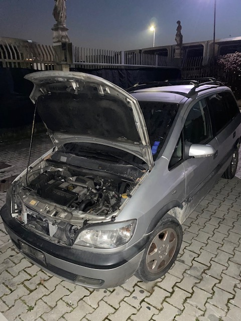 Ricambi Opel Zafira 2000cc diesel 2000 tipo motore Y20DTH 74KW