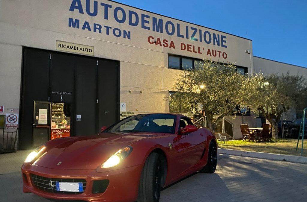 Ferrari 599 Fiorano -Trattative riservate –