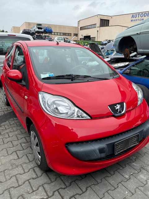 Ricambi Peugeot 107 1000cc benzina 2005 tipo motore 1KR 50kw