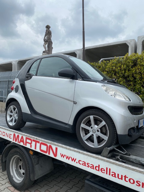 Ricambi Smart fortwo 1000cc benzina 2015 tipo motore 3b21 62kw