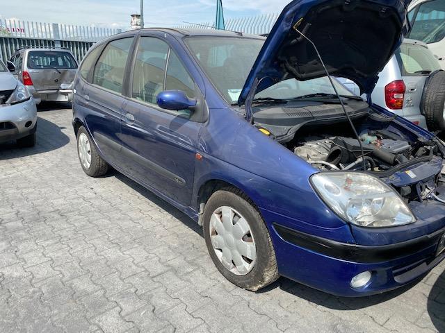 Ricambi Renault Scenic 1600cc benzina 2001 tipo motore K4MA7 79kw