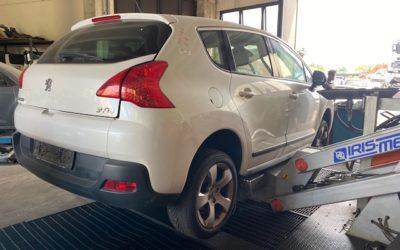 Ricambi Peugeot 3008 1600cc diesel 2010 tipo motore 9hr 82kw