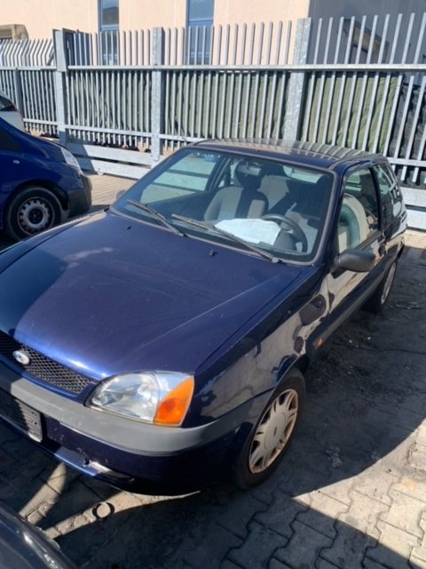 Ricambi Ford Fiesta 1200cc benzina 2002 tipo motore DHF 55kw